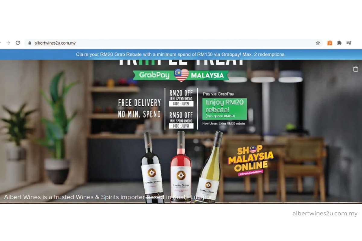 E-commerce: An infusion of liquid courage during the MCO