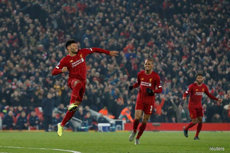 Oxlade-Chamberlain gives Liverpool win over Genk