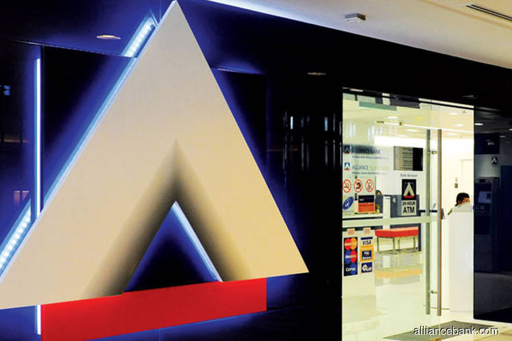 Alliance Bank falls 8% after saying 1Q net profit nearly halved