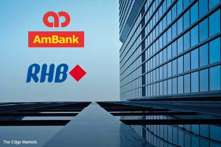 AmBank, RHB Bank fall after Moody's report on proposed merger