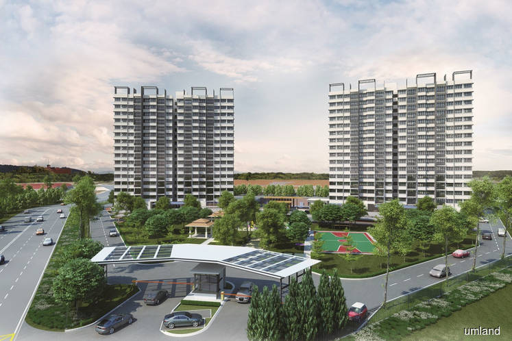 An artist's impression of Amber Heights. (Photo by UM Land)