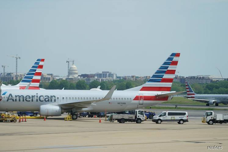 US Treasury agrees on loan terms with American, four other airlines