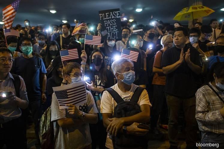 U.S. House Passes Bill Aimed at Supporting Hong Kong Protests