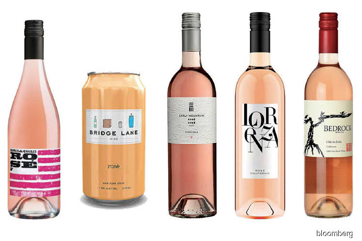 New wave of American rosé