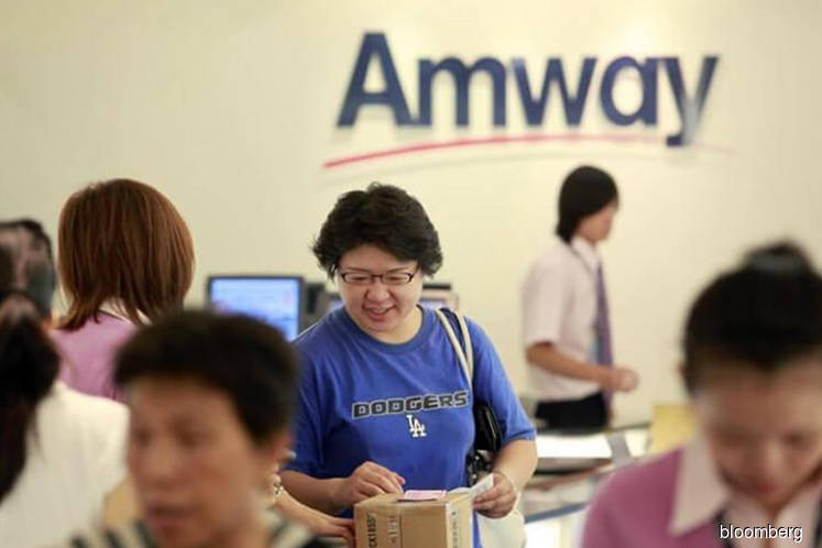 Amway 2Q profit up 148%; group to pay 5 sen dividend
