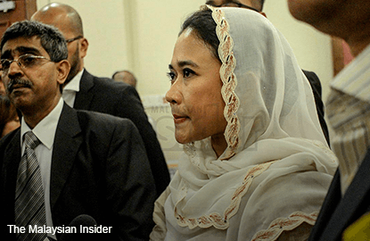 Umno woman who filed suit against Najib sacked from party