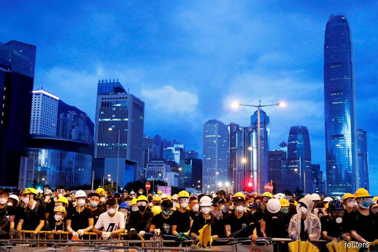 Chinese state media says 'Western ideologues' to blame for Hong Kong  unrest