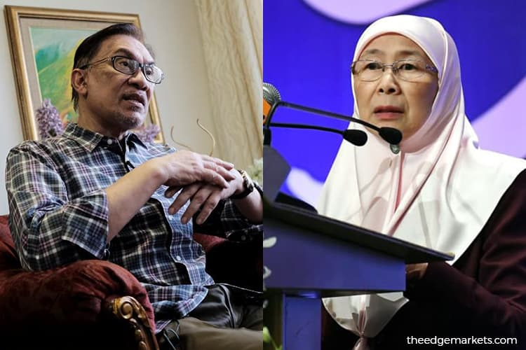 Dr Wan Azizah will not relinquish DPM post for Anwar