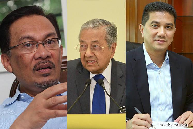 Dangerous times for Mahathir, Anwar and Azmin
