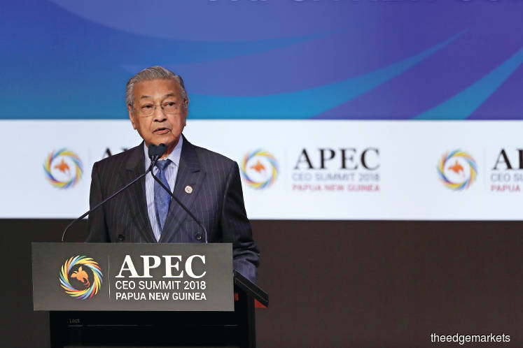 Politics and Policy: The Mahathir-Apec poser