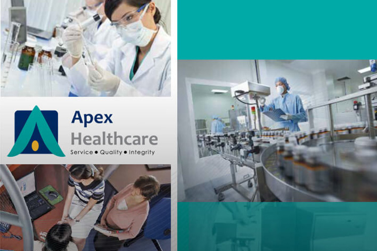 Covid-19 rush boosts Apex Healthcare's 1Q sales, but group says demand may not sustain