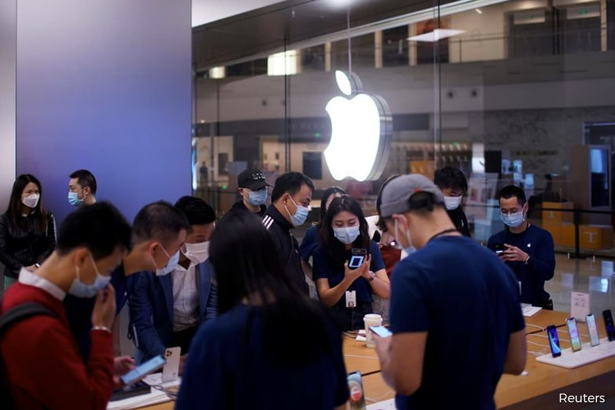 Apple stock pulled down by weak iPhone sales, China