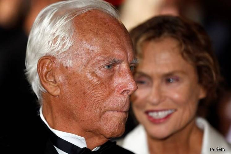 Armani plans transfer of stake in fashion firm to his foundation   The Edge Markets