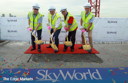 SkyWorld plans RM900m launches this year; mulls listing