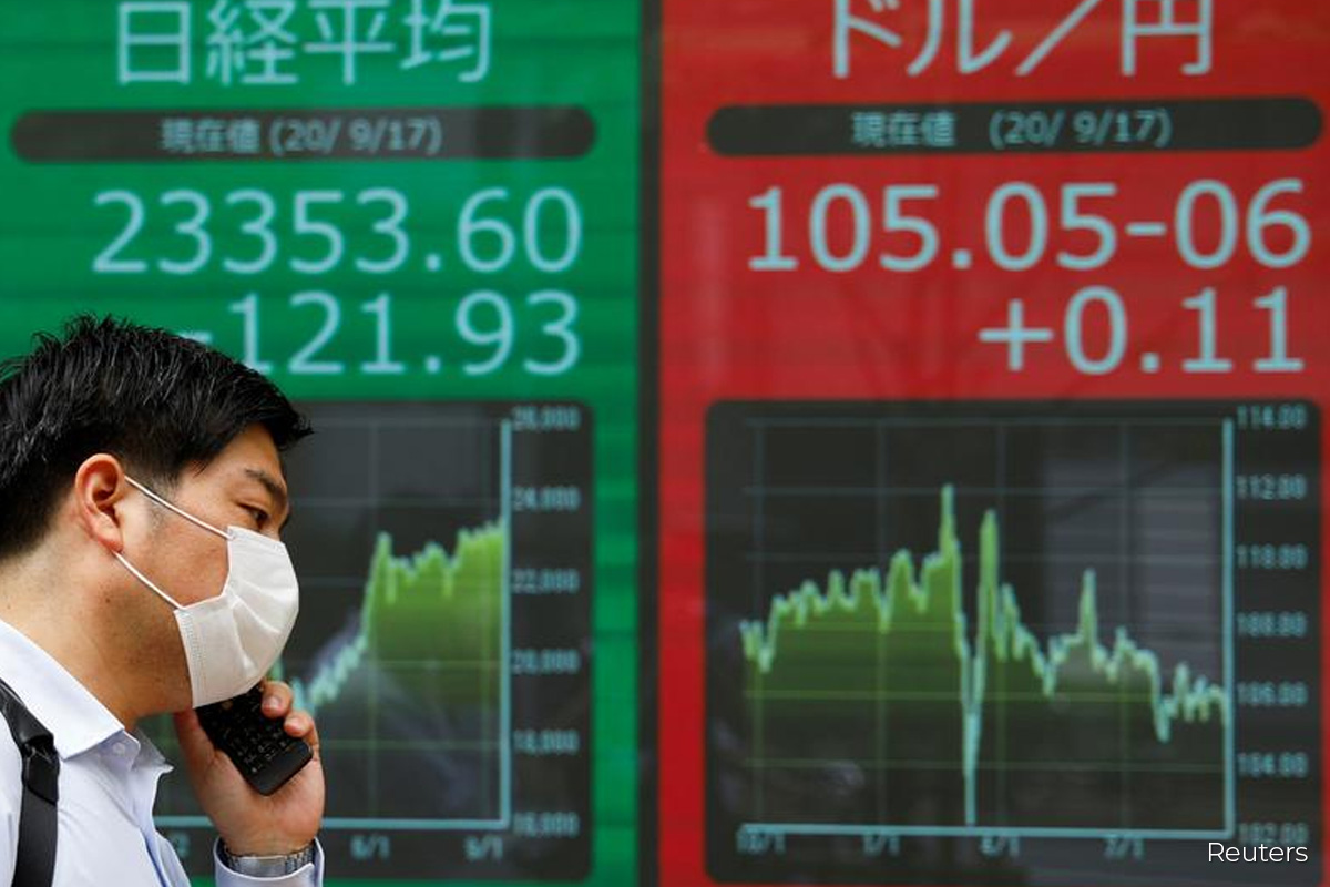 Asian markets poised for choppy day after Wall St's fall
