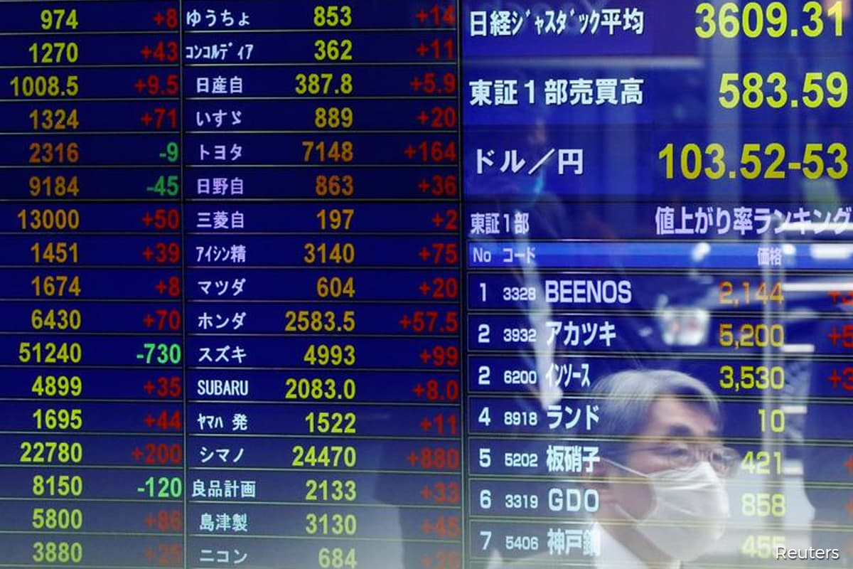Asian stocks bounce as bond market calms