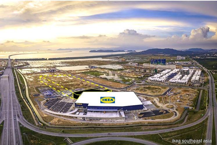 First phase of mall at IKEA Batu Kawan to open end-2019