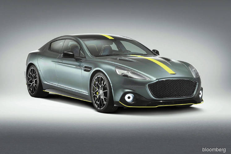 Cars: Aston Martin's unveils track-ready Rapide