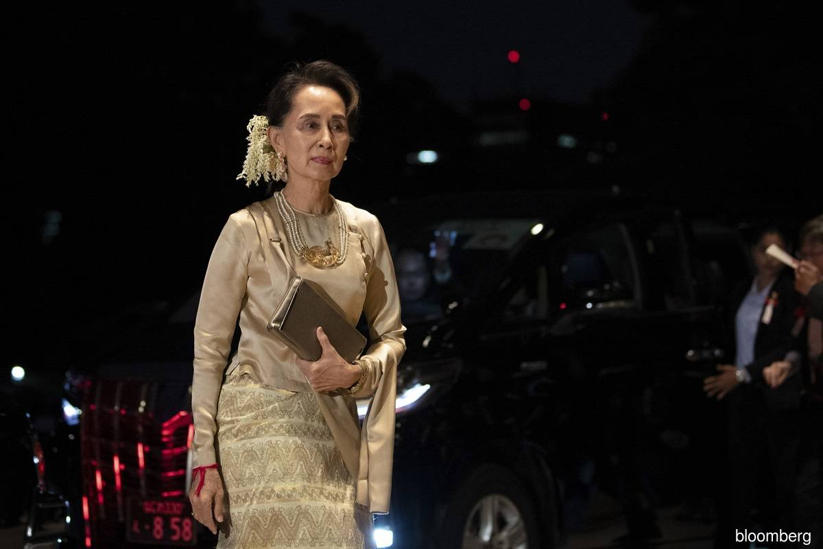 Myanmar activists call for New Year defiance; Suu Kyi due for video hearing