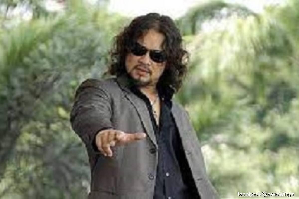 Rock singer Datuk Ahmad Azhar Othman or better known as Awie (Photo credit: Facebook @Awie Wings)