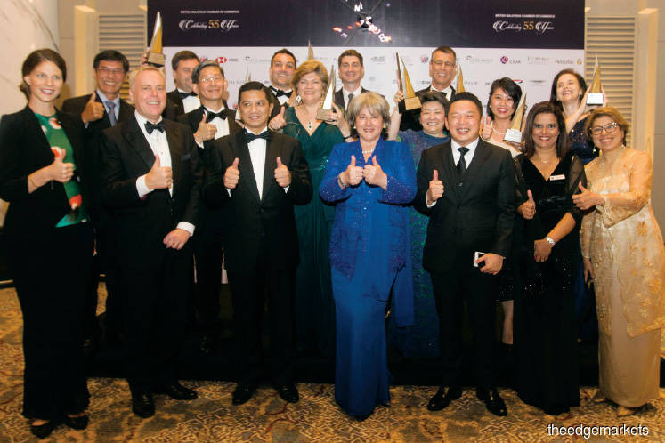 Chamber honours the best in business at anniversary bash