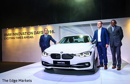BMW unveils locally-assembled BMW 3-series hybrid