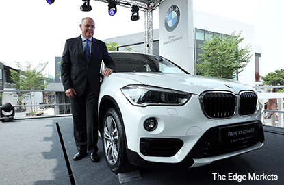 BMW provides BMW 5 and BMW X5 series as CIMB Classic official cars
