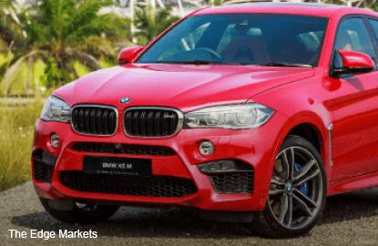 BMW Malaysia unveils new BMW X6 M