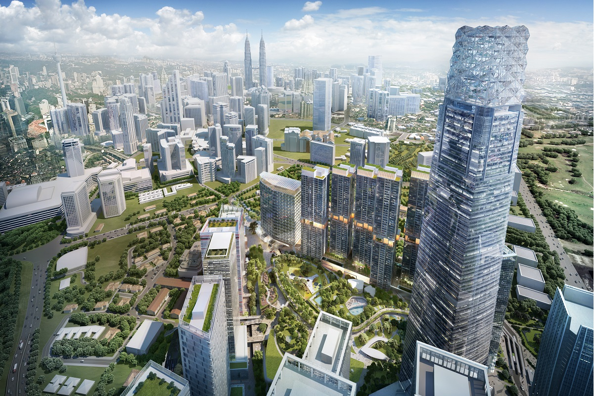 An artist's impression of The Exchange TRX. (Photo by Lendlease Malaysia)