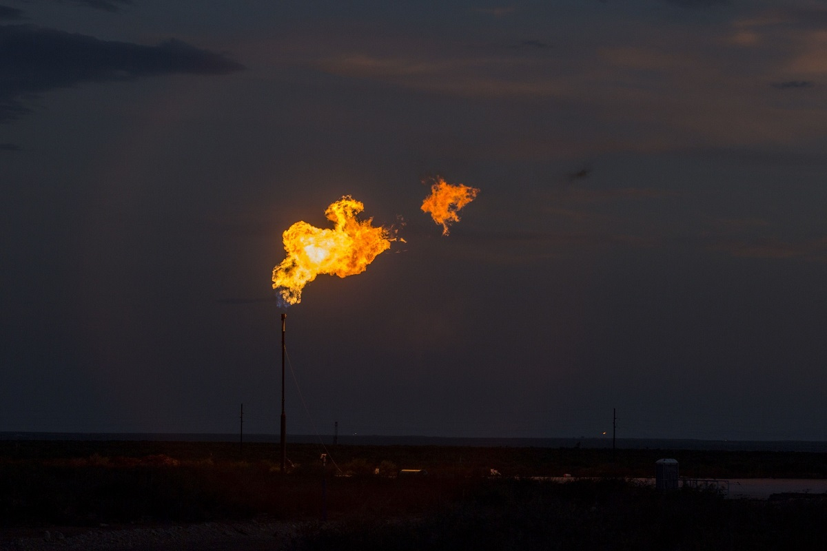 BP says the request for flaring permits isn't inconsistent with those plans. (Photo by Bloomberg)