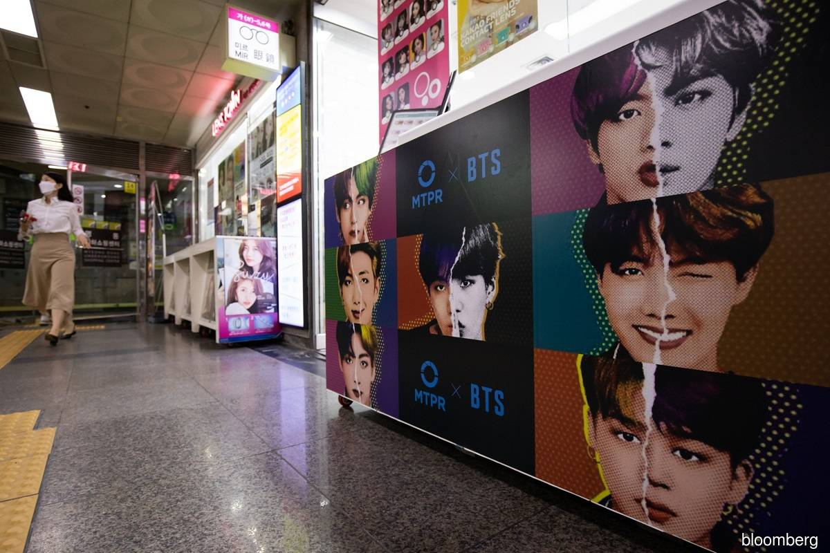 South Korea firm behind boy band BTS surges in market debut