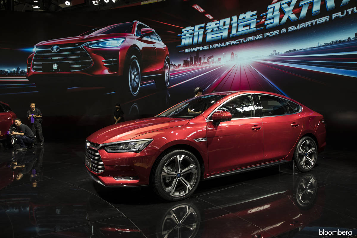 Electric car maker BYD seeks up to US$3.6 bil in placement