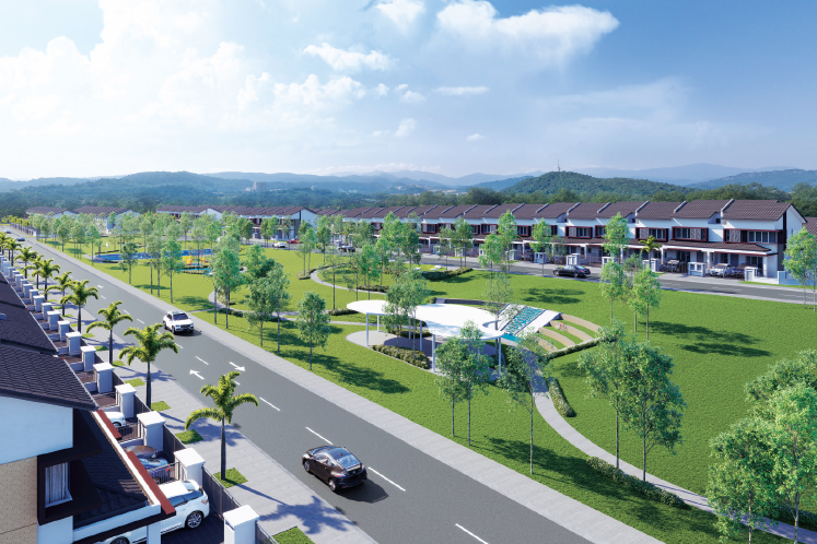 Artist's impression of the 56.68-acre Starling development (Picture by IJM Land)