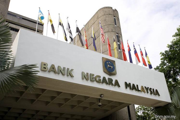 Bank Negara's international reserves down 0.8% to US$108.5b as at May 31