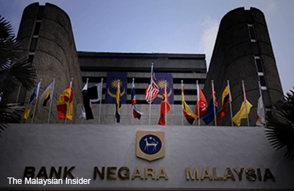 Bank Negara's international reserves slip 0.1% to US$93.9b