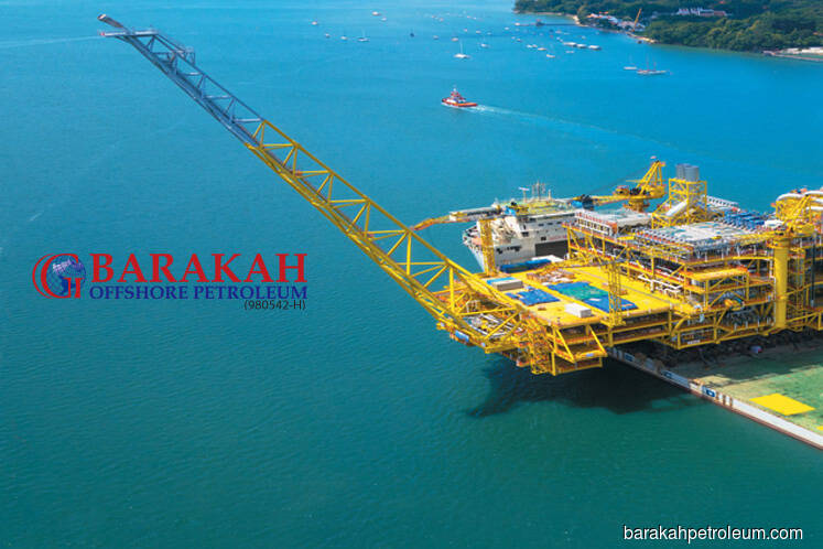 Barakah falls 8.33% after Petronas suspends unit's licence