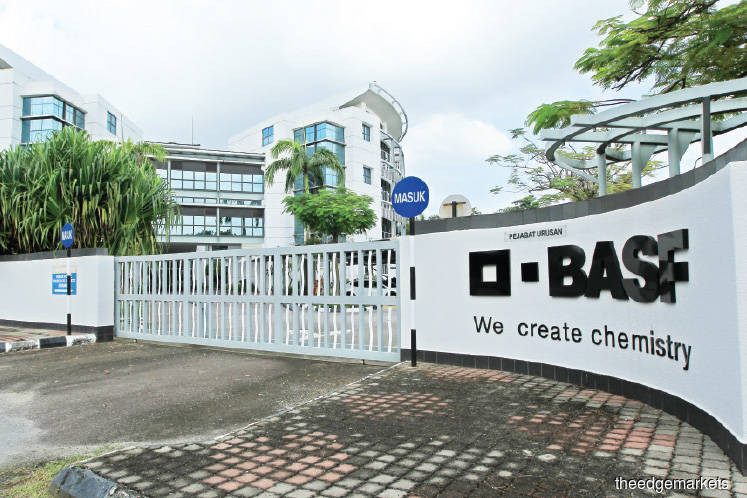 BASF to move, puts Shah Alam site up for sale | The Edge Markets