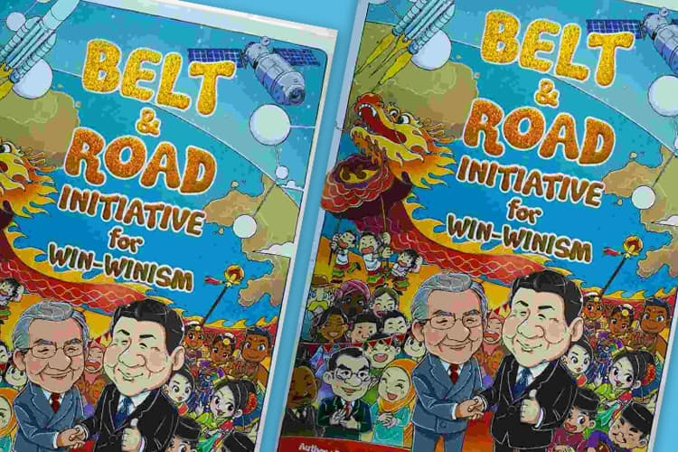 Opposition's move to debate ban on Belt and Road comic dismissed