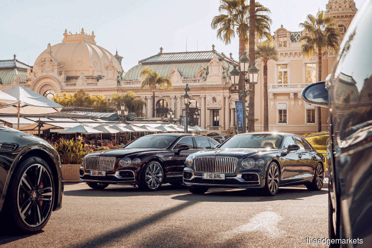 2020 Bentley flying spur is US$215,000 worth of little details