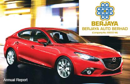 Berjaya Auto 1Q earnings down 6.9%