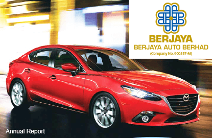 Berjaya Auto shares down 3% on lower profit