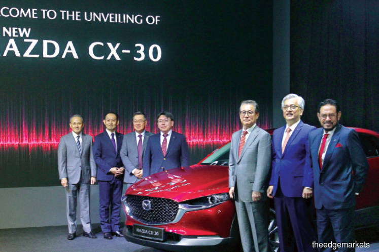 Bermaz Auto launches Mazda CX-30