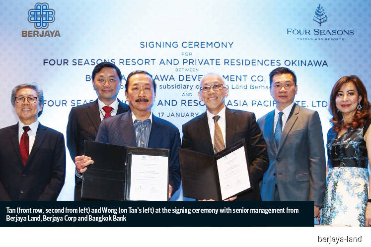 Berjaya Land inks second agreement with Four Seasons Hotels and Resort