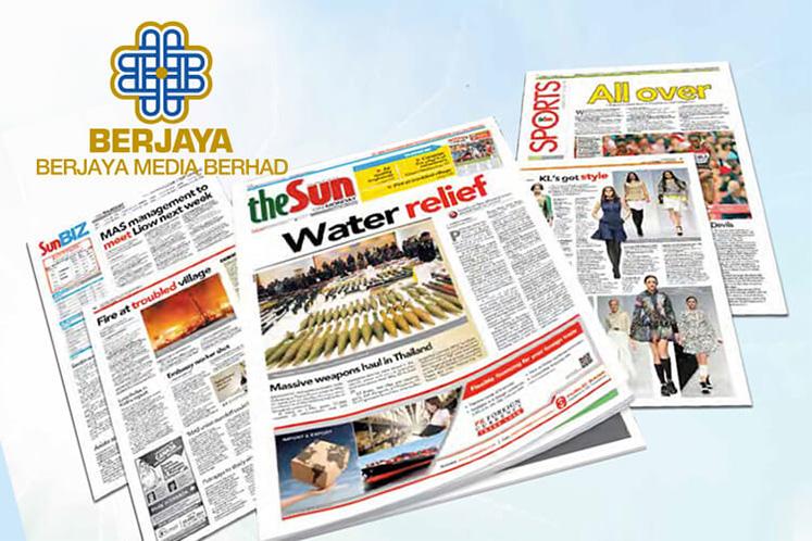 Berjaya Media disposes of Berjaya Corp stake for RM3m