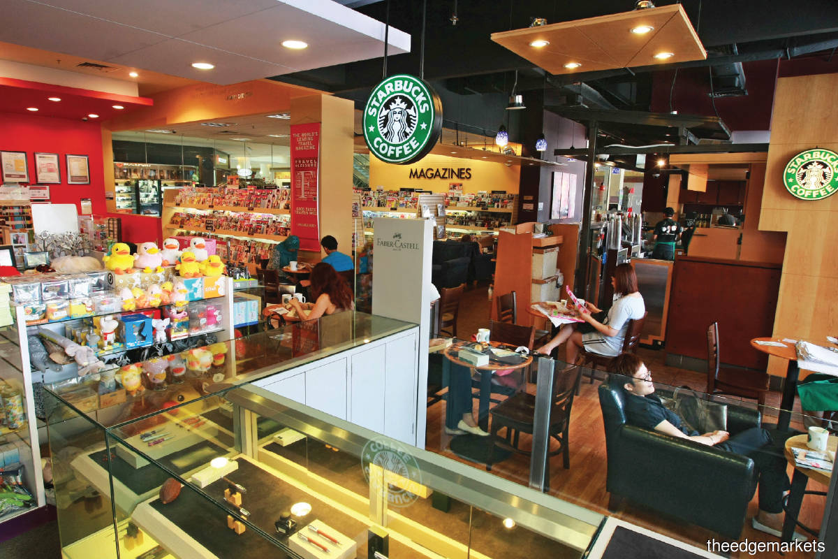 Berjaya Food, which has Starbucks in its portfolio, chalked up a net loss of RM18.93 million against revenue of RM634.72 million in FY2020. (Photo by The Edge)