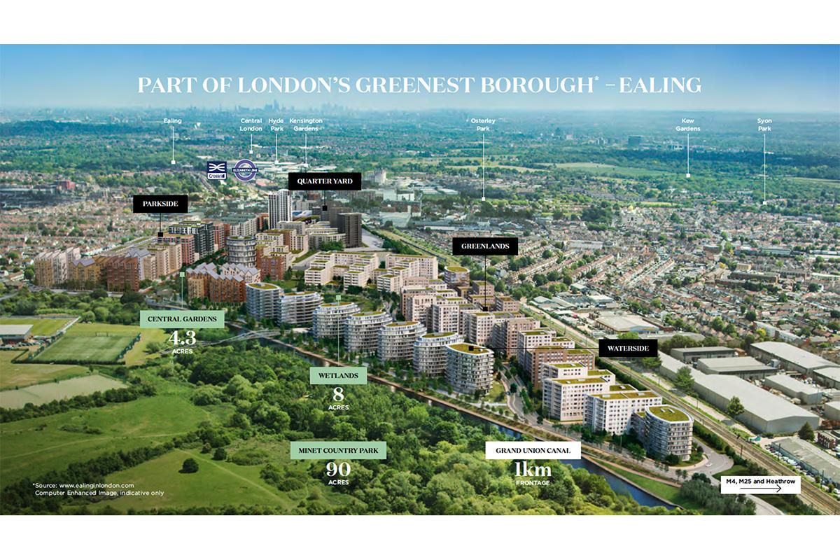 New Apartments Launching at West London Master Regeneration Scheme