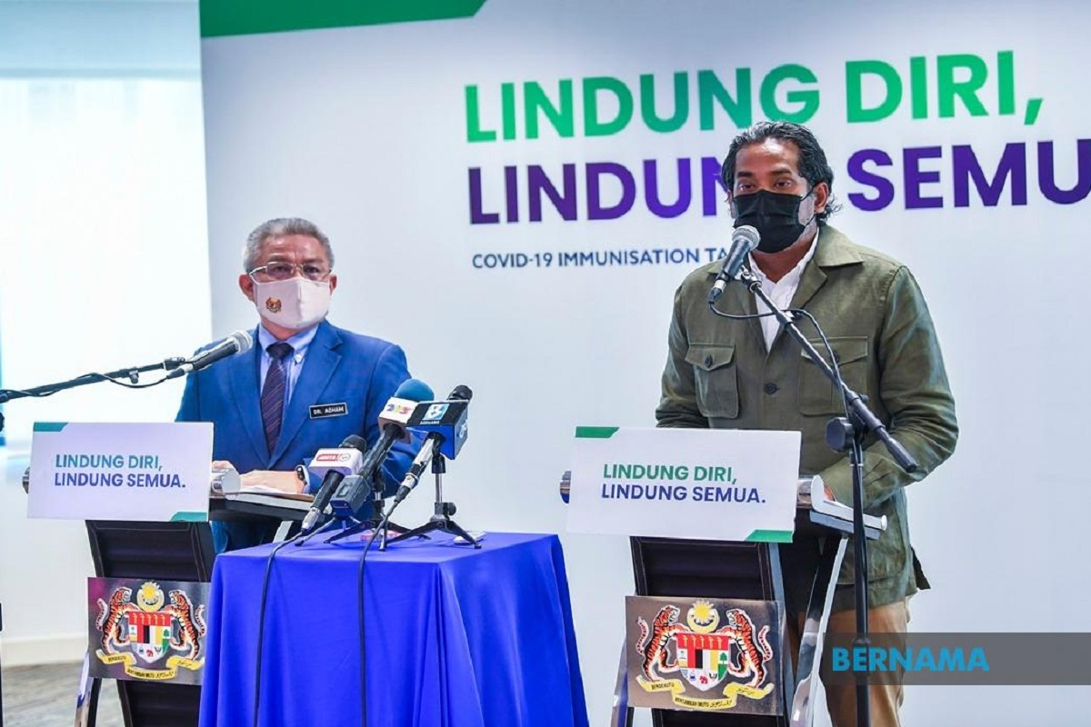 Senior citizens to be given Sinovac vaccine, says Khairy