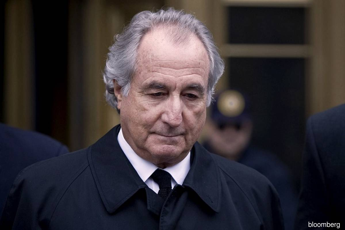 Bernard Madoff leaves Federal Court in New York, US on March 10, 2009. (Photo credit: Jin Lee/Bloomberg filepix)