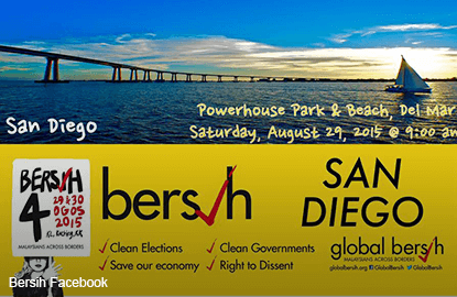 Rio de Janeiro, Manila and San Diego join Bersih for first time