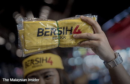 Police studying Bersih 4 footage, to call more for questioning